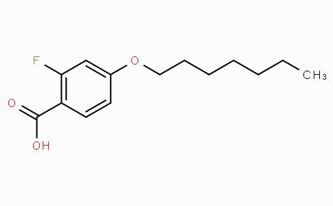 2-Fluoro-4-n-heptyloxybenzoic acid