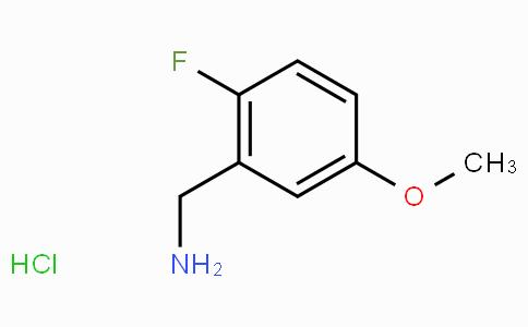 2-Fluoro-5-methoxybenzylamine hydrochloride