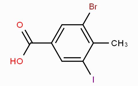 3-Bromo-5-iodo-4-methylbenzoic acid