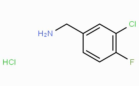 3-Chloro-4-fluorobenzylamine hydrochloride