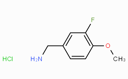 3-Fluoro-4-methoxybenzylamine hydrochloride