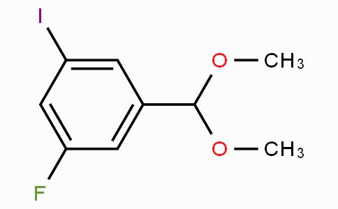 3-Fluoro-5-iodobenzaldehyde dimethyl acetal