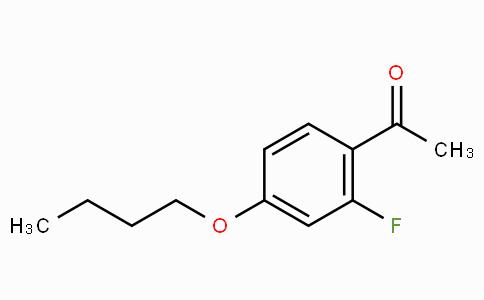 4'-n-Butoxy-2'-fluoroacetophenone