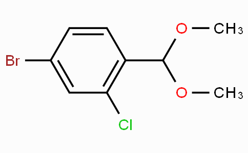 4-Bromo-2-chlorobenzaldehyde dimethyl acetal