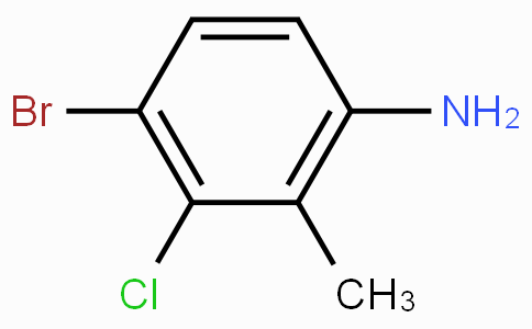 4-溴-3-氯-2-甲基苯胺