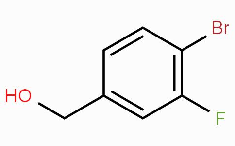 4-Bromo-3-fluorobenzyl alcohol