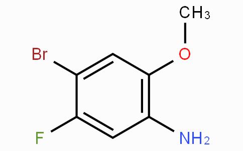 4-Bromo-5-fluoro-2-methoxyaniline