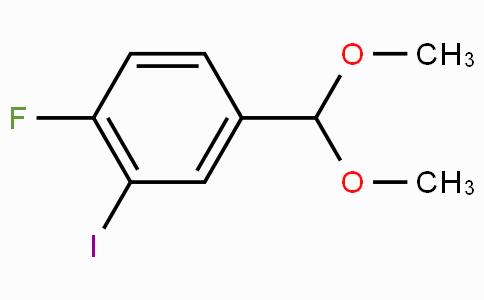 4-Fluoro-3-iodobenzaldehyde dimethyl acetal