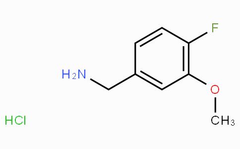 4-Fluoro-3-methoxybenzylamine hydrochloride