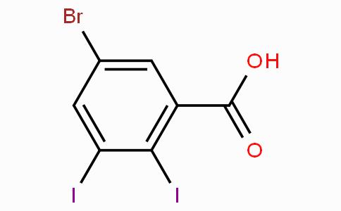 5-Bromo-2,3-diiodobenzoic acid