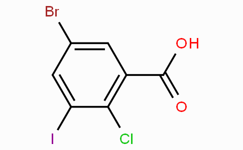 5-Bromo-2-chloro-3-iodobenzoic acid