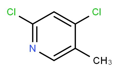 2,4-Dichloro-5-methylpyridine