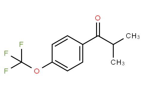 2-Methyl-1-(4-trifluoromethoxyphenyl)- 1-propanone