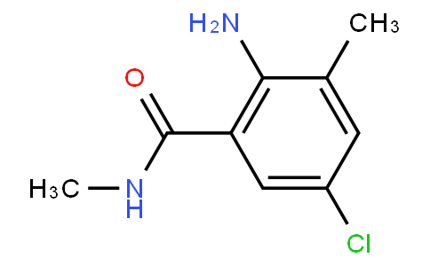 2-Amino-5-chloro-N,3-dimethylbenzamide