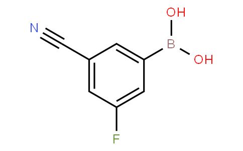 3-Cyano-5-fluorophenylboronic acid