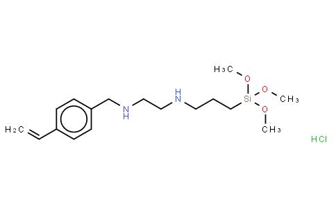 3-(N-Styrylmethyl-2-aminoethylamino)propyltrimethoxysilane hydrochloride(LC-6032)
