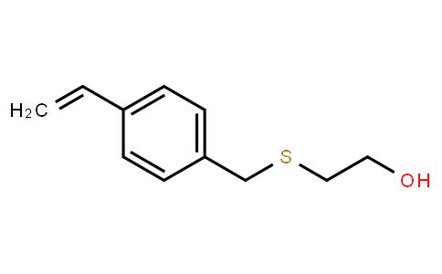 2-[[(4-ethenylphenyl)methyl]thio]ethanol