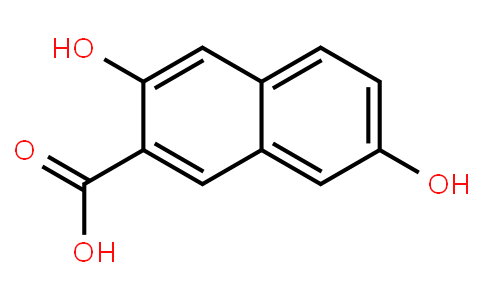 3,7-dihydroxy-2-naphthoic acid