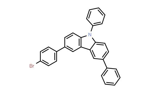 BP25118 | 1186644-47-2 | 3-(4-Bromophenyl)-6,9-diphenyl-9H-carbazole