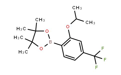 BP21831   2121513-99-1   4,4,5,5-Tetramethyl-2-[2-propan-2-yloxy-4-(trifluoromethyl)phenyl]-1,3,2-dioxaborolane