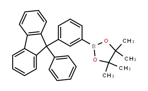 BP23863 | 1260032-45-8 | 4,4,5,5-Tetramethyl-2-[3-(9-phenyl-9h-fluoren-9-yl)phenyl]-1,3,2-dioxaborolane