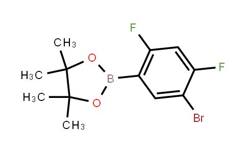 BP21667   1419602-18-8   2-(5-Bromo-2,4-difluorophenyl)-4,4,5,5-tetramethyl-1,3,2-dioxaborolane