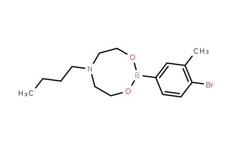 BP21266 | 1451391-62-0 | 4-Bromo-3-methylphenylboronic acid N-butyldiethanolamine ester