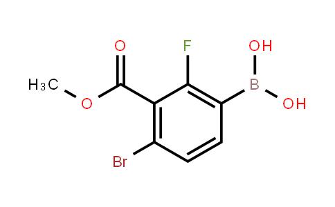 BP21243 | 1451391-94-8 | 4-Bromo-3-ethoxycarbonyl-2-fuorophenylboronic acid