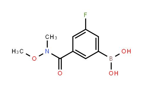 BP21365 | 1451392-31-6 | [3-Fluoro-5-[methoxy(methyl)carbamoyl]phenyl]boronic acid