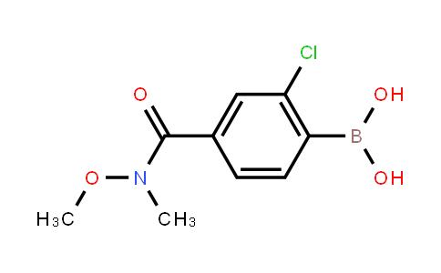 BP21510 | 1451392-33-8 | [2-Chloro-4-[methoxy(methyl)carbamoyl]phenyl]boronic acid