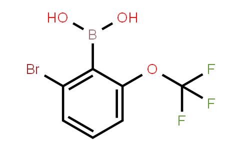 BP20933 | 1451393-18-2 | (2-Bromo-6-(trifluoromethoxy)phenyl)boronic acid