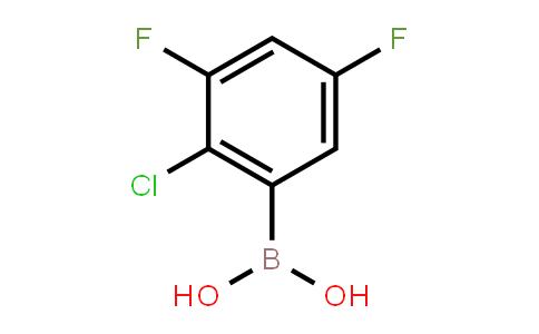 BP21545 | 1451393-37-5 | (2-Chloro-3,5-difluorophenyl)boronic acid