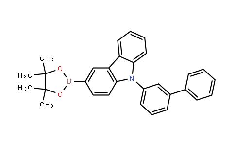 BP23868 | 1533406-38-0 | 9-(Biphenyl-3-yl)-3-(4,4,5,5-tetramethyl-1,3,2-dioxaborolan-2-yl)-9h-carbazole
