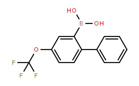 (4-(trifluoromethoxy)-[1,1'-biphenyl]-2-yl)boronic acid