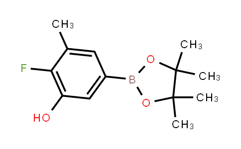 BP21617 | 2121512-07-8 | 2-Fluoro-3-methyl-5-(4,4,5,5-tetramethyl-1,3,2-dioxaborolan-2-yl)phenol