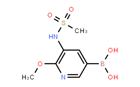 BP21679 | 2121513-41-3 | [5-(Methanesulfonamido)-6-methoxypyridin-3-yl]boronic acid