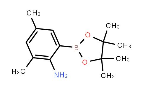 2,4-Dimethyl-6-(4,4,5,5-tetramethyl-1,3,2-dioxaborolan-2-yl)aniline