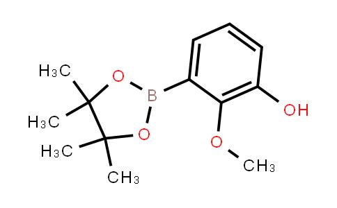 BP21820 | 2121514-31-4 | 2-Methoxy-3-(4,4,5,5-tetramethyl-1,3,2-dioxaborolan-2-yl)phenol