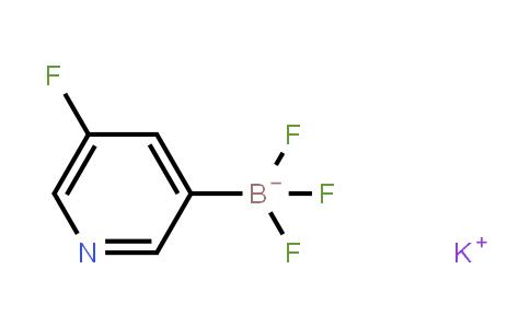 Potassium (5-fluoropyridin-3-yl)trifluoroborate