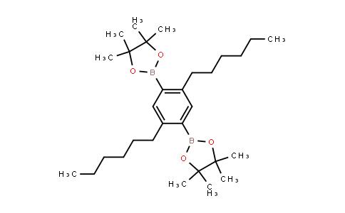 BP23874 | 374934-77-7 | 1,4-Bis(4,4,5,5-tetramethyl-1,3,2-dioxaborolanyl)-2,5-di-n-hexylbenzene