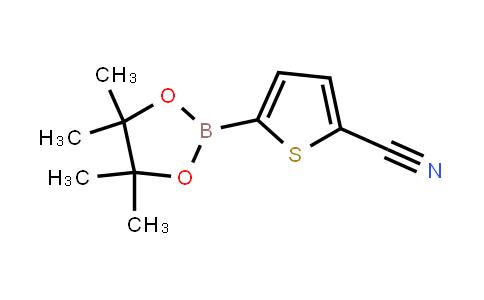 BP23862 | 676501-85-2 | 5-(4,4,5,5-Tetramethyl-1,3,2-dioxaborolan-2-yl)thiophene-2-carbonitrile