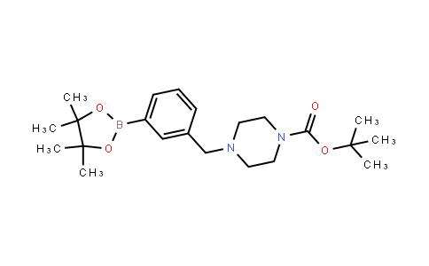 BP21628 | 883738-19-0 | Tert-butyl 4-[[3-(4,4,5,5-tetramethyl-1,3,2-dioxaborolan-2-yl)phenyl]methyl]piperazine-1-carboxylate