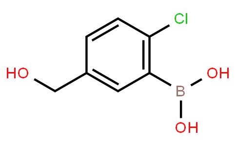 2-Chloro-5-hydroxymethylphenylboronic acid