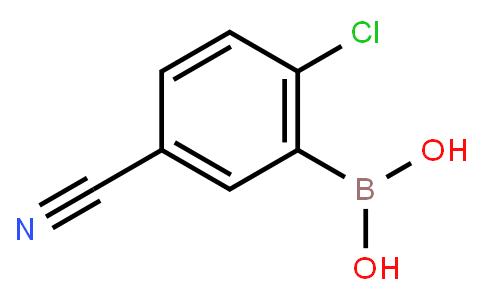 2-Chloro-5-cyanophenylboronic acid
