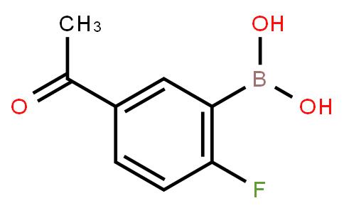 5-Acetyl-2-fluorophenylboronic acid