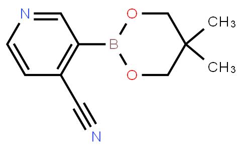4-Cyano-3-(5,5-Dimethyl-[1,3,2]dioxaborinan-2-yl)-pyridine