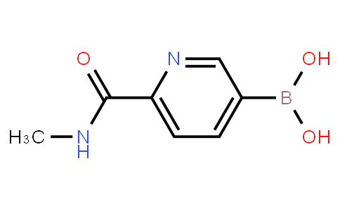 (6-(Methylcarbamoyl)pyridin-3-yl)boronic acid