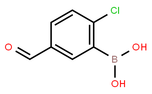 2-Chloro-5-formylphenylboronic acid