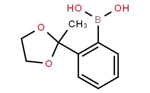 BP20178   243140-14-9   2-(2-Methyl-1,3-dioxolan-2-yl)phenylboronic acid