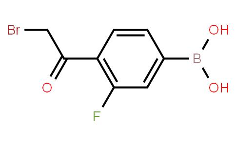 BP20207   481725-36-4   4-Bromoacetyl-3-fluorophenylboronic acid